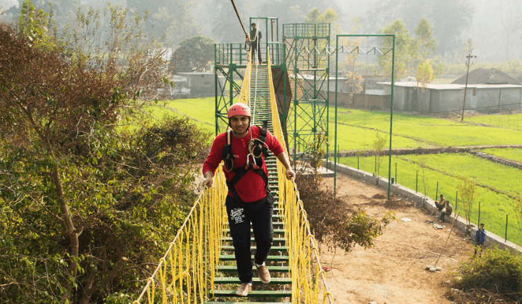 Adventure Activity in Corbett