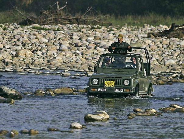 Corbett Jeep Safari