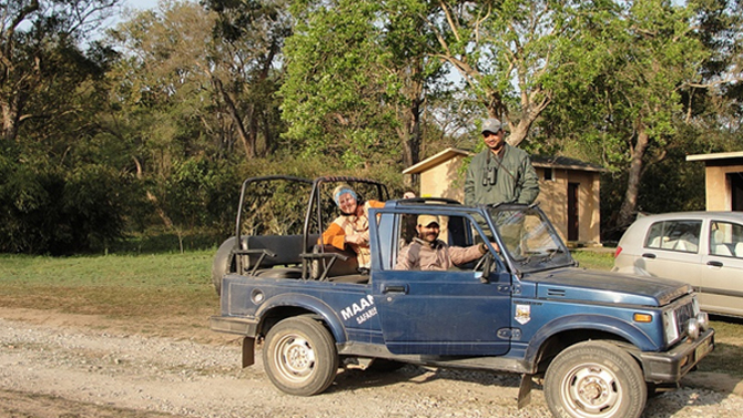 jeep safari in corbett