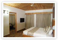 Luxury room of Corbett Leela Vilas